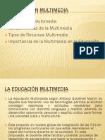 Diapositiva Educacion Multimedia