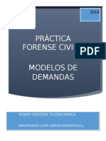 Modelos Demandas Derecho