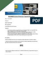 DS1000E D B Firmware Update Procedure