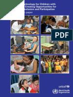 Tehnologii Asistive UNICEF