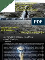Calentamiento Global y Cambios Climaticos