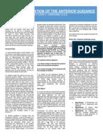 Digitally Recreated Anterior Guidance by Dr. John C. Cranham