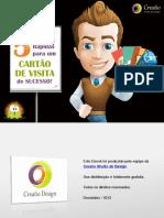 eBook 5dicas Cartao Visita Sucesso Creatio Studio Design