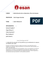 Caso 06 - Indalsa B
