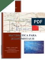 Apuntes Economía Matemática II Corregido