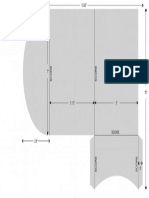 Rounded Flap A7 Pocketfold Template