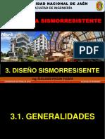 3.1. Generalidades Para El Diseño Sismorresistente