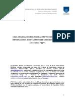 Caso Negociación Uruguay Argentina Por Proteccionismo Comercial