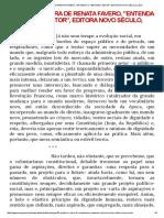 Prefácio à Obra de Renata Favero, _entenda o Terceiro Setor_, Editora Novo Século, 2011