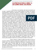 """São Seus Olhos (Prefácio Para a Obra """"a Cor Da Pele"""", De Almiro Sena, Salvador, Bahia, 2010)"""