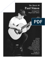 Music of Paul Simon by F.sokolow DVD Booklet GW501