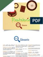 glosario pastelería