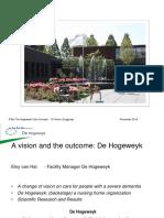 De Hogeweyk Hermes Brainstormmeeting Ict Support December 2014