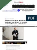 Arhitekt Novog Hdz a Od Tudmana Sam Naucio Da Je Temelj Moderne Hrvatske Antifasizam 4592384