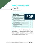 Techniques de L'Ingénieur - Normes ISO 9000, Version 2000 - Un Nouvel État d'Ésprit