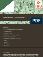Administración Gubernamentales