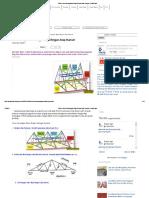 Teknis Kerja Pemasangan Baja Ringan Atap Rumah _ Proyek Sipil