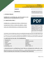 Ficha Tecnica de PIP de Emergencia i.e.I INICIAL Higuerani