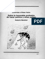 Entrevista a Eliseo Verón