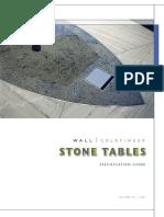 Stone Table Brochure
