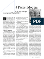 MX614 Packet Modem