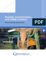 Density Measurement - System Overview