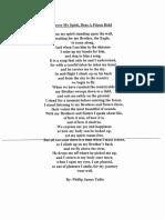 Phillip Tallio Poem From Affidavit