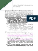 Ley de Cuotas en Discapacidad Chile