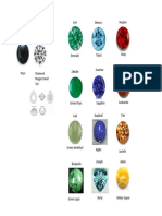 Priest Brestplate Stones - Placement by color