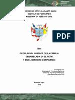 TESIS:REGULACIÓN JURÍDICA DE LA FAMILIA ENSAMBLADA EN EL PERÚ Y EN EL DERECHO COMPARADO