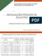 Aula_6_-_Instalaes_prediais_de_gua_fria_-_Dimensionamento_de_tubulaes.pdf