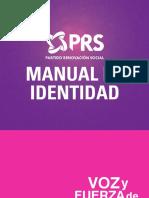 PRSOaxaca Manual de Identidad