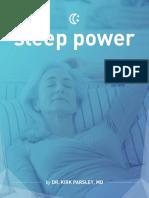 Sleep Power eBook