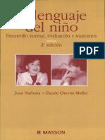 EL LENGUAJE DEL NIÑO. DESARROLLO NORMAL, EVALUACIÓN Y TRASTORNOS.pdf