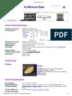 Aksaite Mineral Data1