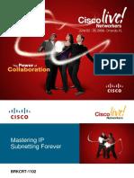 Magic Number VLSM Cisco Live 2008