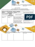 Guía de Actividades y Rúbrica de Evaluación - Fase 3 - Formulación de Hipótesis