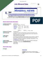 Akermanite Mineral Data1