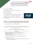 Introduction Aux Institutions Politiques et droit constitutionnel