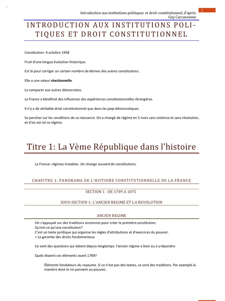 Dissertation 3eme republique