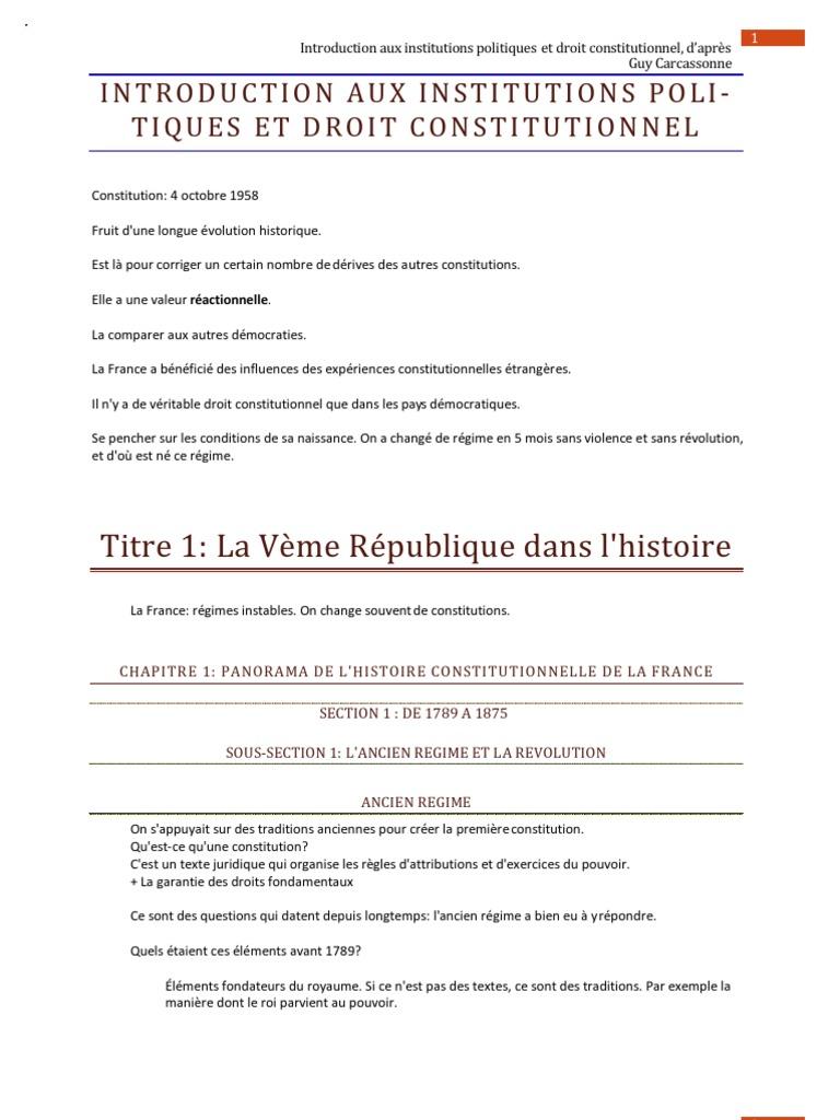 Dissertation 3eme republique