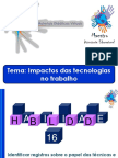 ENEM -Impacto Das Tecnologias No Trabalho