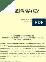 Propuestas de Nuevas Medidas Tributarias Ccpll 03-09-16