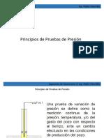 Principios de Pruebas de Presión