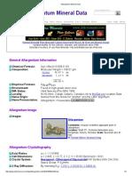 Allargentum Mineral Data1