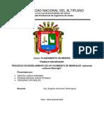 Planeamiento en Mineria-UNA-Minesight