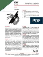 CAT-2021 CR CF-MP Series Moisture Proof Heat Detectors