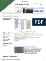 Allendeite Mineral Data1