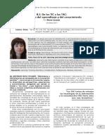 Lozano, R - De Las TIC a Las TAC, Tecnologías Del Aprendizaje y Del Conocimiento