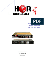 How to use 2 HDMI to RF QAM and IPTV  Digital modulator